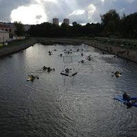 Photo taken at Банный мост by Алексей Н. on 9/7/2013