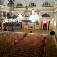 Снимок сделан в Филармония им. Д. Д. Шостаковича. Большой зал пользователем Malyanichૐ T. 10/13/2013