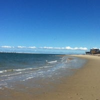 Photo taken at Millway Beach by Margo V. on 3/24/2013