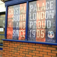 Photo taken at Selhurst Park by Claire C. on 3/2/2013