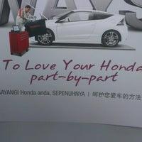 Photo taken at Honda 3S Center (Jimisar Corporation Sdn Bhd) by Jeffery O. on 9/19/2012