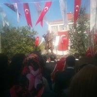 Photo taken at Cumhuriyet Meydanı by Swarm 0. on 4/23/2013