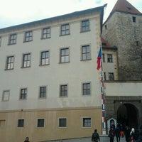 Photo taken at Lobkowiczký palác by Venoušek Š. on 3/21/2013