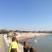 Photo taken at Plage de la Concurrence by André . on 2/20/2013