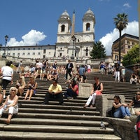 Photo taken at Piazza di Spagna by yuji3110 on 6/8/2013