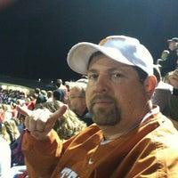 Photo taken at st.johns high school football field by Lori C. on 9/28/2013
