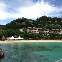 Photo taken at Shangri-La Boracay Resort and Spa by Natalia P. on 2/25/2013
