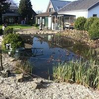 Photo taken at Vijver by Jurgen d. on 4/21/2013