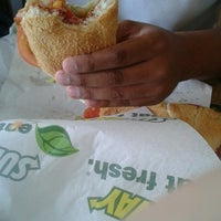 Photo taken at Subway by Elianne L. on 7/13/2013