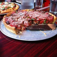 Photo taken at Kylie's Chicago Pizza by George B. on 5/15/2014