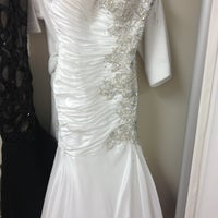 Photo taken at A L'Amour Bridal Shop by Angelyque L. on 3/21/2013