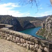 Photo taken at Castellnou De Seana by Juan Pablo U. on 4/3/2013