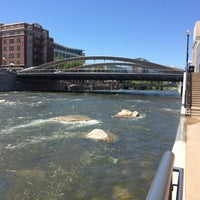 Photo taken at Truckee River by Briana S. on 6/1/2016