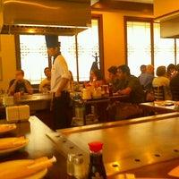 Photo taken at Sakura Japanese Steak, Seafood House & Sushi Bar by Alejandro P. on 7/12/2013