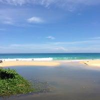 Photo taken at Karon Beach by Ekaterina on 5/14/2013