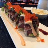 Photo taken at Yoki Japanese Restaurant and Sushi Bar by Nadina on 4/27/2015