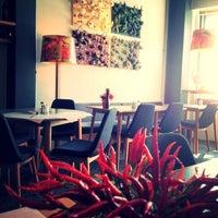Photo taken at Enstitu Restoran (Istanbul Culinary Institute) by İpek A. on 8/29/2013