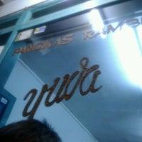 Photo taken at Pangkas Rambut Yuda by Devian R. on 9/29/2012