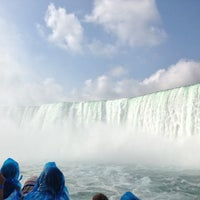 Photo taken at Maid Of The Mist - Canada entry by Klaus S. on 7/8/2013