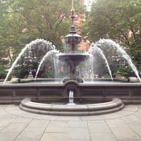 Photo taken at City Hall Park by Kerissa K. on 6/17/2013