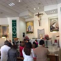 Photo taken at Iglesia Santa Rita by Diego F. on 10/2/2016