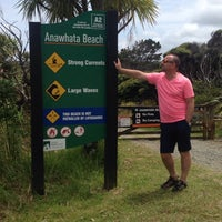 Photo taken at Anawhata Beach by Anatoly Z. on 12/23/2013