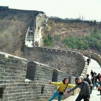 Photo taken at Great Wall at Mutianyu by Sherly H. on 4/1/2012