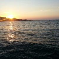 7/21/2013 tarihinde Melisa K.ziyaretçi tarafından Mudanya Sahili'de çekilen fotoğraf