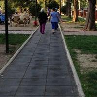 Photo taken at Gençlik Parkı Yürüyüş Parkuru by YAVUZ💤🇹🇷 on 6/17/2013