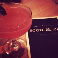 Photo taken at Scott & Co. by Justin Eats on 5/11/2013