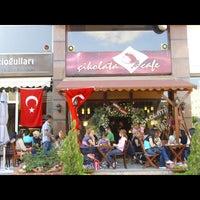 Photo taken at Çikolata Cafe by Çelebi on 7/2/2013