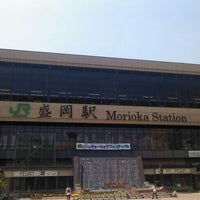 Photo taken at Morioka Station by james t. on 5/9/2013