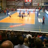 Photo taken at Volley Asse Lennik by Jesse D. on 5/1/2015