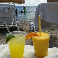 Photo taken at Ritz Carlton Key Biscayne white sand beach by Emily U. on 4/20/2014