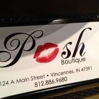 Снимок сделан в Posh Boutique пользователем Posh B. 3/19/2013