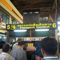3/27/2013にVirgo F.がด่านพรมแดนสะเดา (Dan Nok Immigration Check Point)で撮った写真