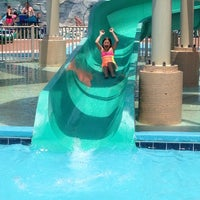 Photo taken at Jolly Rogers Splash Mountain by Carlee S. on 6/26/2013