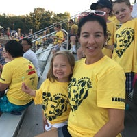 Photo taken at Memorial Field EGR Stadium by A R. on 9/22/2017