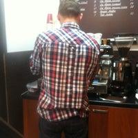 Photo taken at Espresso bar by Yulija B. on 4/19/2013