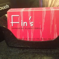 Photo taken at Fin's Sushi & Grill by Brittany D. on 5/16/2013