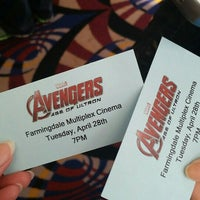 Photo taken at Farmingdale Multiplex Cinemas by Melissa on 4/28/2015