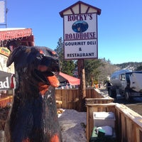 Photo taken at Rocky's Roadhouse & Trading Post by R on 1/15/2013