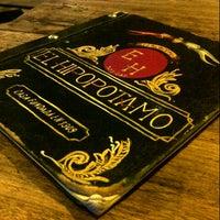 Photo taken at Hipopotamo Bar by Lu R. on 4/8/2013