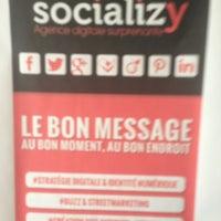 Das Foto wurde bei Agence Socializy von Xavier A. am 3/6/2013 aufgenommen