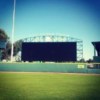 Photo taken at Jackie Robinson Stadium by Sam S. on 1/18/2013