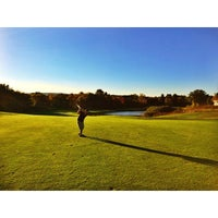 Photo taken at Gillette Ridge Golf Club by Sam S. on 10/4/2014