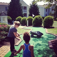 Photo taken at Miniature Golf @ Wyndham Kingsgate by John G. on 5/10/2013