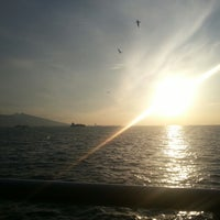 Photo taken at İzmir Körfezi by Yiğitalp Ö. on 4/10/2013
