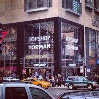 Photo taken at Topshop Topman by Darwin D. on 12/2/2012