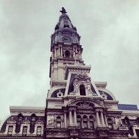 Photo taken at Philadelphia City Hall by Darwin D. on 4/29/2013